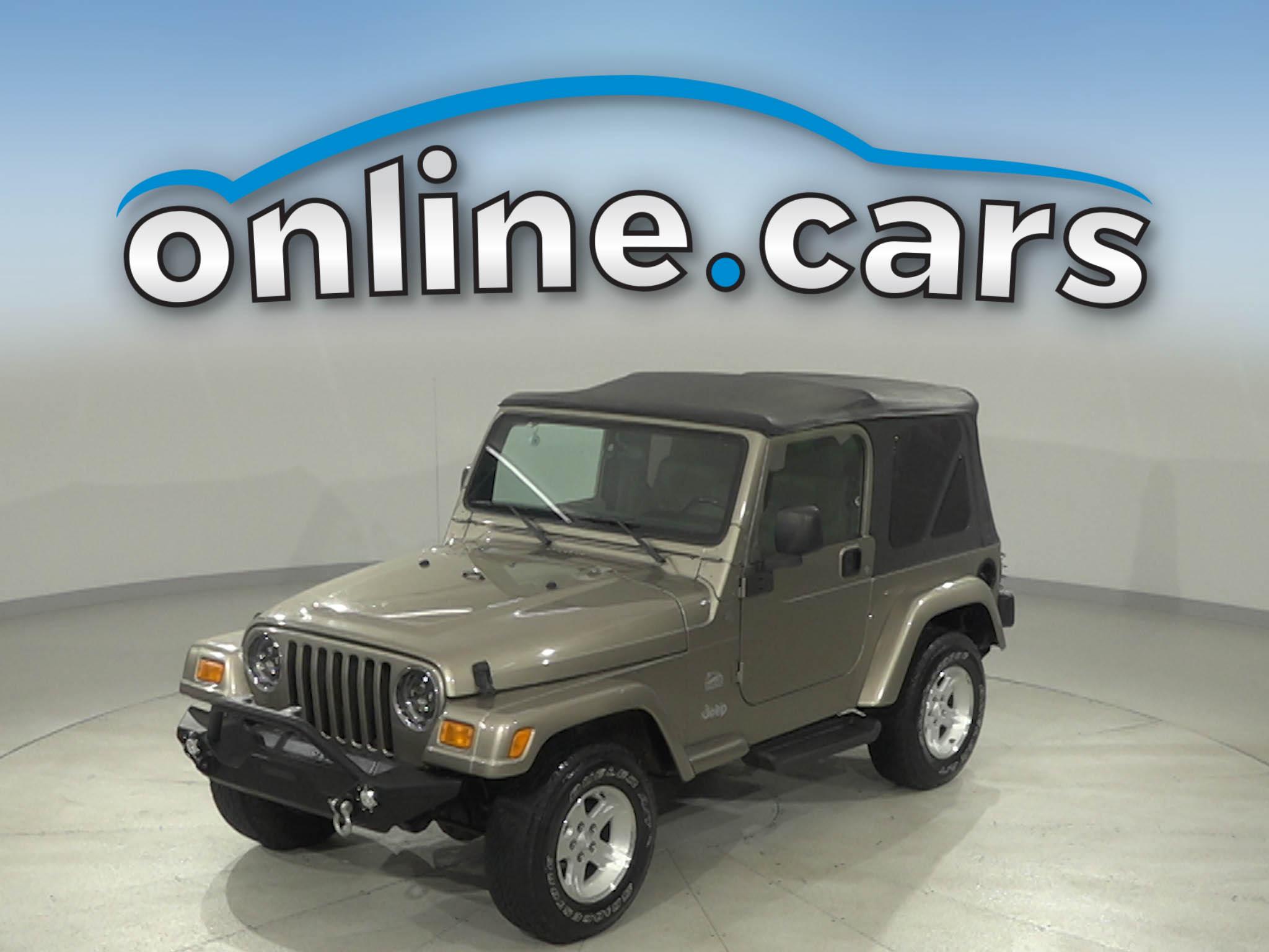Pre-Owned 2004 Jeep Wrangler Sahara