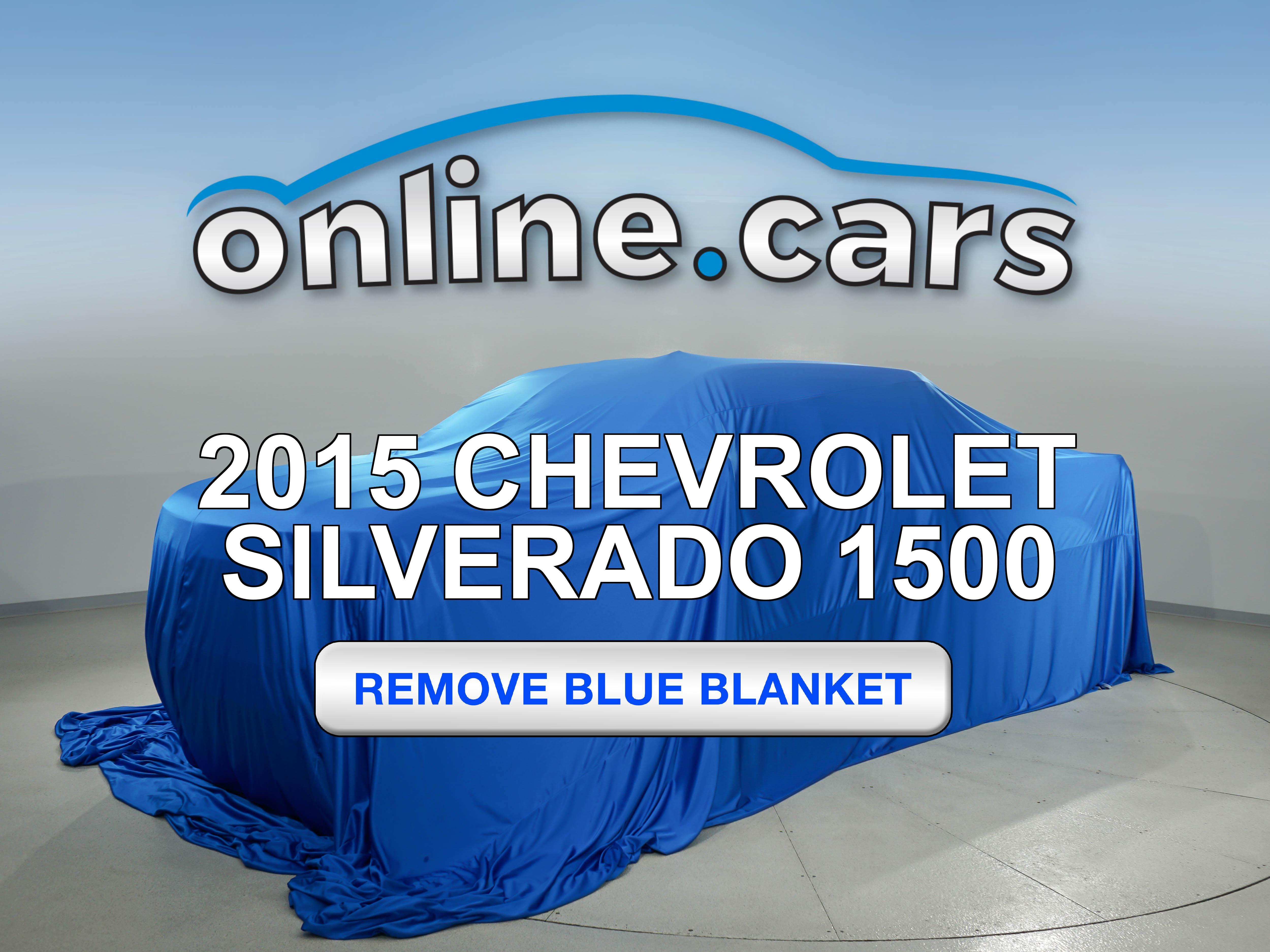 Pre-Owned 2015 Chevrolet Silverado 1500 WT